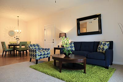 Living Room - Ashby Green Apartment Homes